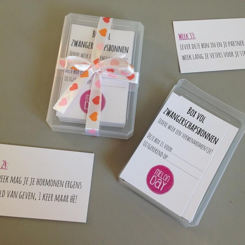 Voorkeur Babyshower ideeën (quiz) en stickers voor je buik | Melon Day #AH26
